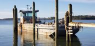 1987 50′ x 14′ x 3′ Steel Work Boat/Cargo Tug - NEW PRICE!