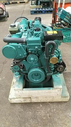 Volvo Penta TMD31L-A 100hp Marine Diesel Engine Package (PAIR AVAIL)