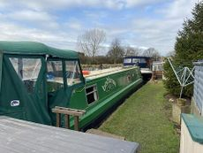 45ft Cruiser Stern Narrowboat  Built by David Clarke in 2000