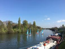 60' Liveaboard Mooring - Surbiton - River Thames