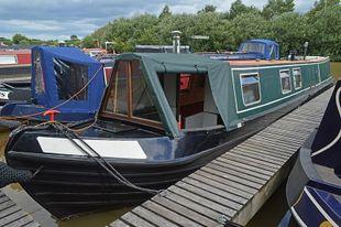 47ft Trad Stern Narrowboat