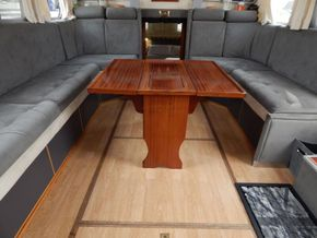 Dutch Steel Cruiser spacious liveaboard - Looking Aft