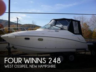 2001 Four Winns 248 Vista