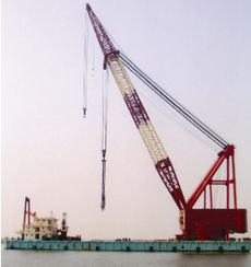 1000 T CRANE + ACCOMMODATION