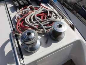 Starboard Coachroof Winches