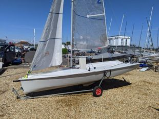 K2 2 person dinghy with keel Lymington