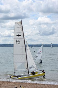 Hurricane 5.9 SX sail number 444