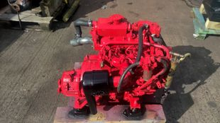 Beta 20 Marine Diesel Engine Breaking For Spares