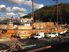 [YHT010] Cruising sailing double masts rarity yacht