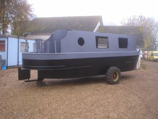 31ft NARROW BOAT SHELL