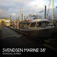 1994 Svendsen Marine 36 Jet Sport Cruiser