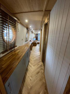 Corridor to lounge