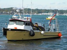 1973 35' Twin Screw Alum Dive Boat