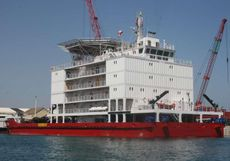 230' 121 PAX Accommodation Vessel