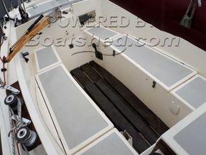 Cornish Crabber 24  Cutter Bermudan Rig - Cockpit