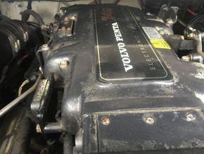 Four Winns 245 Sundowner  - Engine
