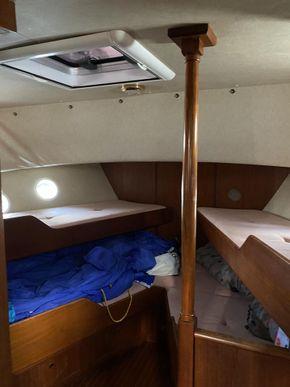Forward Cabin 4 bunks