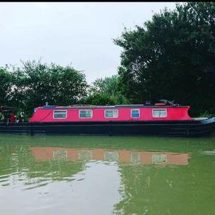 41ft project boat NB Esmeralda