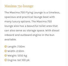 Maxima 750 Lounge
