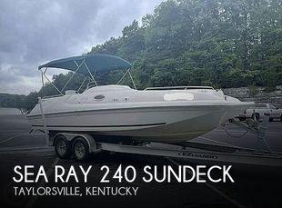 1998 Sea Ray 240 Sundeck