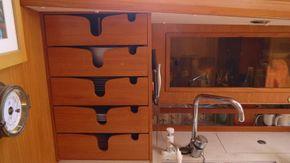 storage in galley
