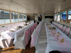 Thames Charter Boat Company   Houseboat conversion Floating Bar Cafe