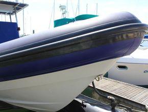 South Boats 9m RIB  - Bow