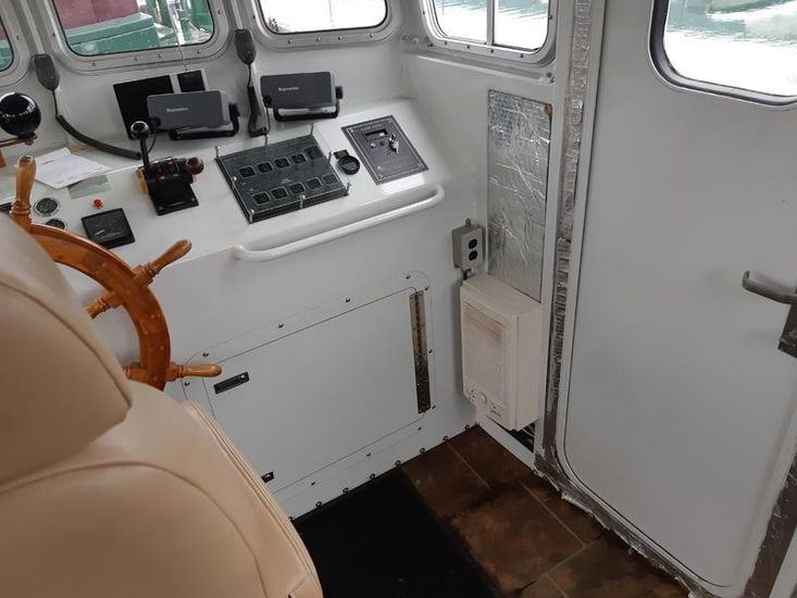 2008 47' x 14.6' x 5' Steel Model Bow Tug
