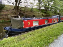 40ft Cruiser Stern - Wine Wolf built by liverpool Boats