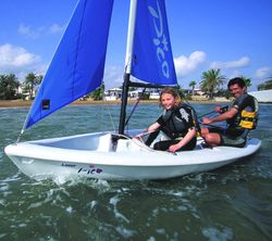 NEW - Laser Pico Boat Package with Trolley and Cover