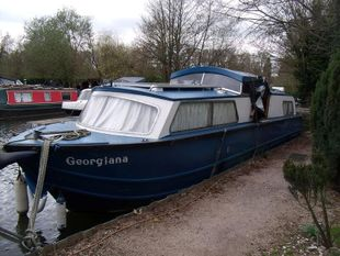 Georgiana 28ft 1987 Romero (Dawncraft) 4 berth GRP motor cruiser