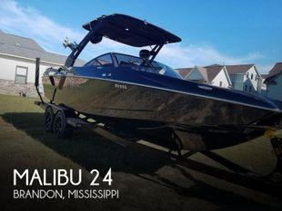 2019 Malibu 24 MXZ wakesetter
