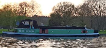 Unique cruising houseboat Barge
