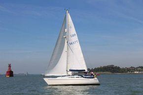 At sail