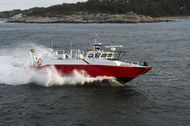 Reduced price: Combat boat 90 Ambulance vessel Alf Lundgren