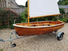 9ft SOUTERS SAILING/ROWING DINGHY - 1960 - Restored