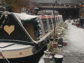 merchant in the snow