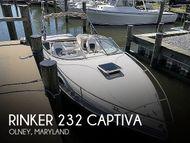 2001 Rinker 232 Captiva