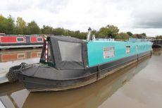 Jade, 1989, 57ft Traditional style narrowboat.