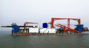 NB ORDER 4,500m3  Non-propelled Cutter Suction Dredger