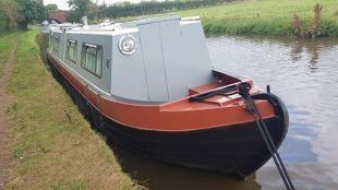45' David Piper Trad Narrowboat