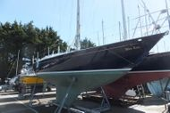 SOLD BY BOSHAM YACHT SALES Contessa 32 Dark Blue Hull