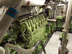 Erlend engine room