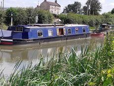 57' x 10'  Widebeam Canal Cruiser