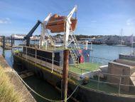 26.8m Steel Training Barge