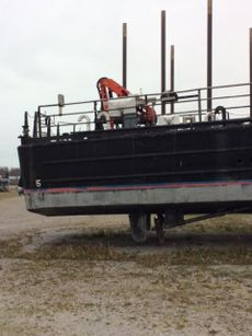 1969 73' x 17' Halter Built Work Boat