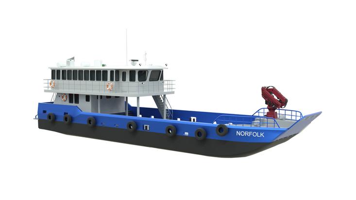 MOC Shipyards 25m 52 PAX New build Landing Craft