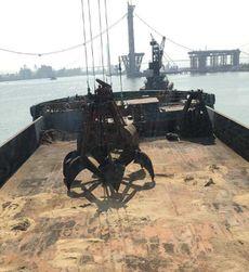 3300DWT Grab Barge
