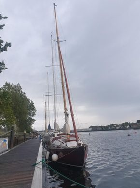 June 2020 Arklow pontoon