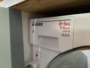 Large capacity washer dryer